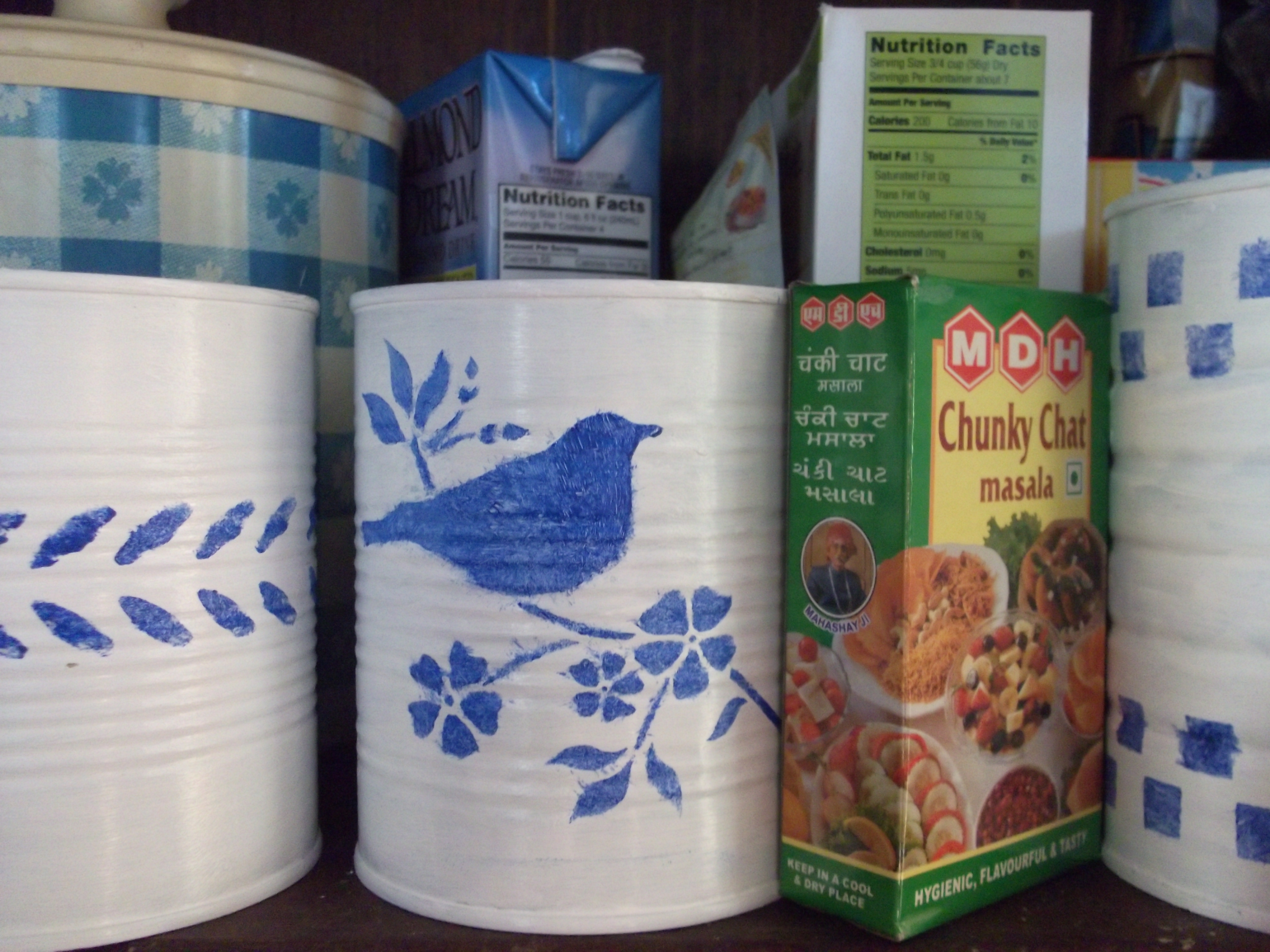 Recycled tin can crafts something for almost nothing for Can you recycle cookie tins