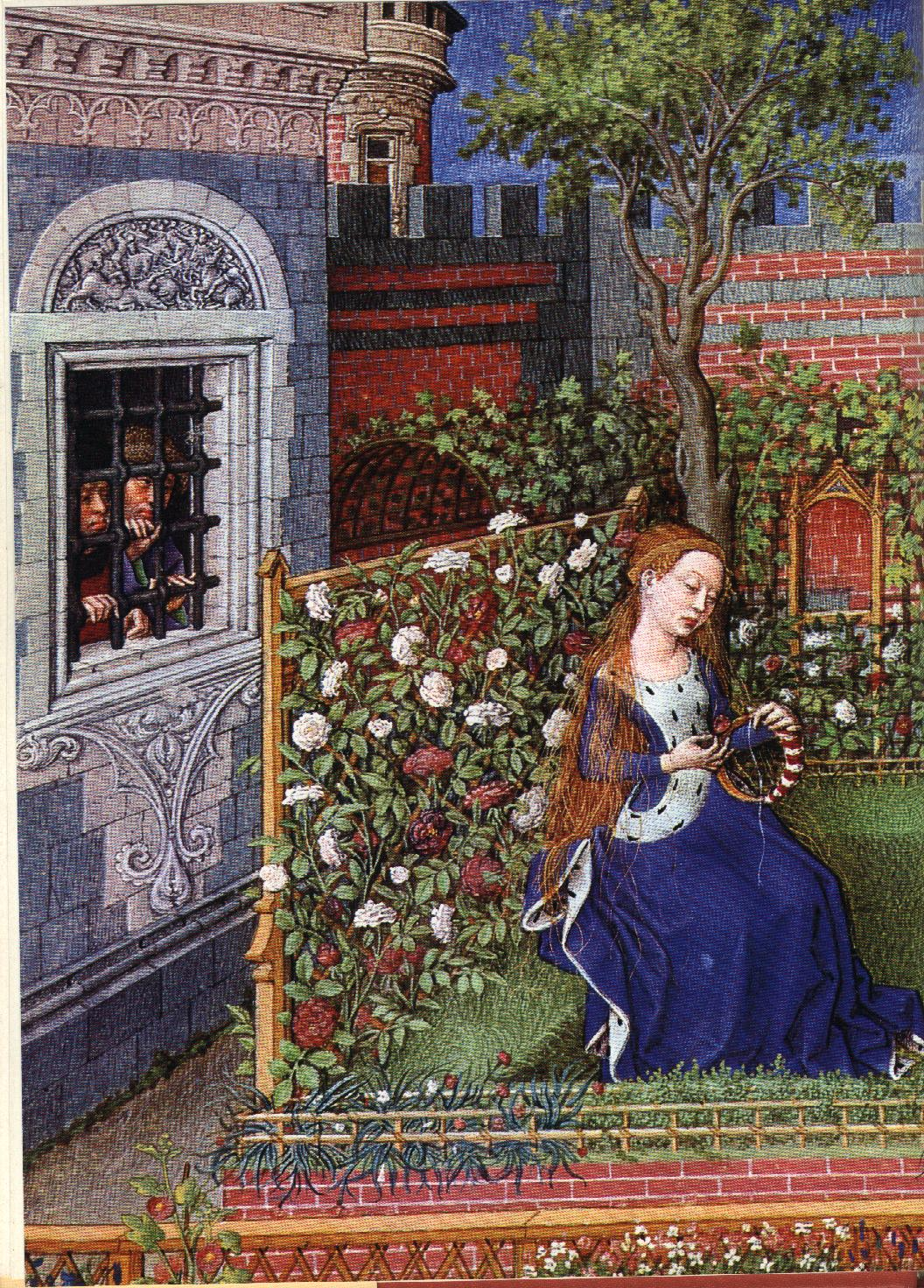 Flowers in Medieval Manuscripts by Celia Fisher | Something for ...