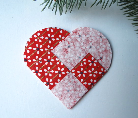 How To Make A Woven Heart Basket : Danish woven hearts with a japanese twist something for