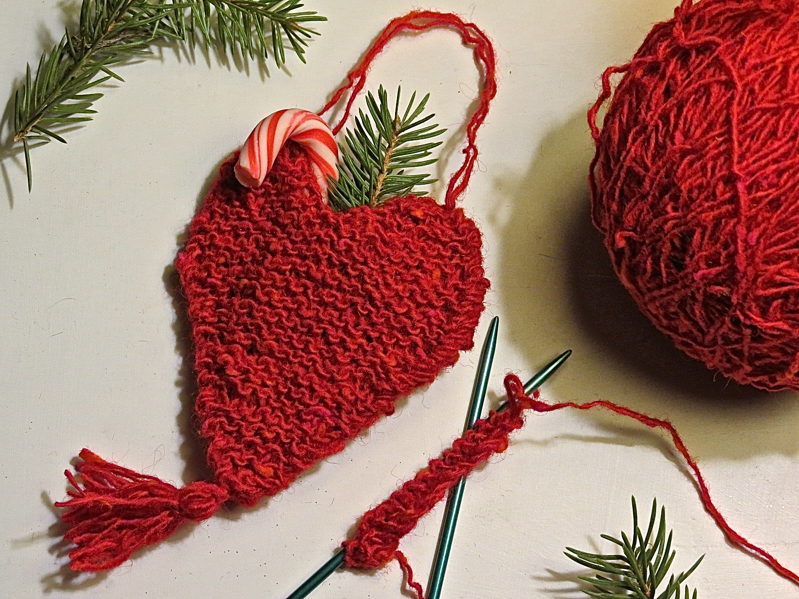 Knitting Pattern Christmas Bells : knitted christmas bell ornament Something for (almost) Nothing