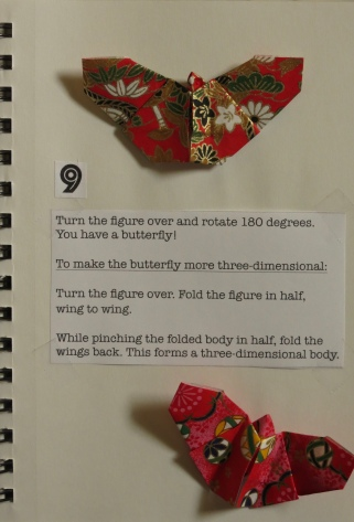 Origami Notebook Japanese Butterflies Something For Almost Nothing